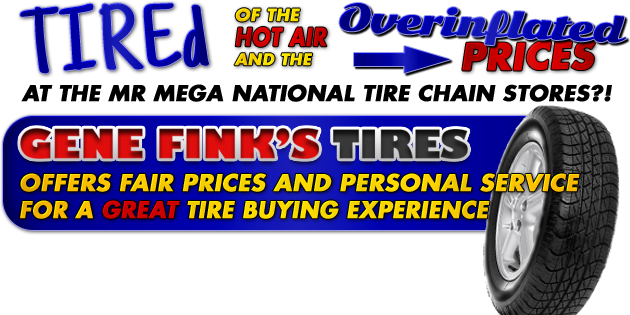 Gene Finks Tire Aspinwall Pa Tire Shop And Auto Repair Services